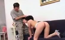 Blonde anal gaping