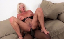 Hot milf anal sex and cum swallow