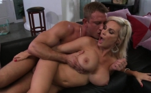 Busty MILF gets pounded in hardcore fashion