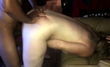 Doggystyle Fucking A Blonde Slut Milf With His Huge Cock