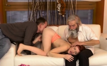 Touch Me Daddy Unexpected Practice With An Older Gentleman