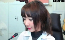 A Japanese Teen On Webcam
