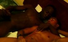 Intense Hard Bareback Sex Of Ebony Gay