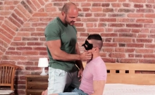 Bald Stud Bang's Masked Friend's Ass