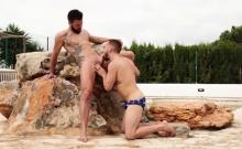 Arab bear anal sex and cumshot