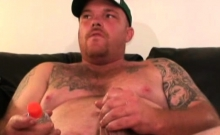 Mature Amateur Popeye Beating Off