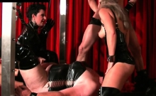 Hot Femdom Action With Chick Dominating Completely