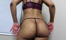 Webcam great ass Latin woman teasing