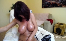 Wife Play With Her Tight Asshole