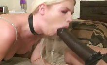 Jayda having anal strap on sex