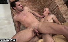 Bromo - Eric With Ricky At Cum Deposit Scene