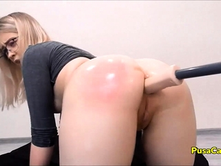 CUTEST MOANING EVER Young Girl with Big Ass