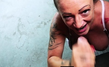 german chubby mom persuaded for real sexdate