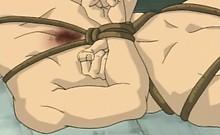 Bondage hentai brutally hard fucked